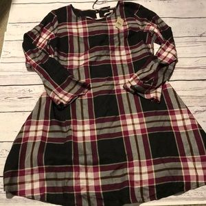 50% OFF BUNDLES NWT Loft Plaid Dress 6P